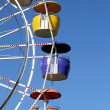 Ferris Wheel Waiting For Passengers — Stock Photo #7619892