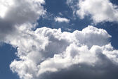 Cumulus Clouds — Foto Stock
