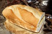 Knoflook brood — Stockfoto