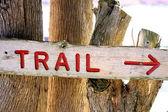 Follow The Trail — Stock Photo