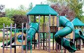 Outdoor Children's Playground — Stock Photo