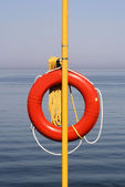 Life Preserver On Standby — Stock Photo