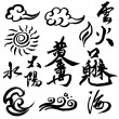 Chinese Calligraphy — Stock Photo #7357730