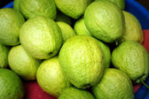 Fundo de frutas frescas de goiaba — Fotografia Stock