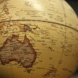 Educational antique globe — Stock Photo