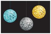 Disco balls — Stock Vector
