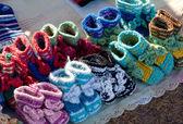 Patucos para bebé — Foto de Stock