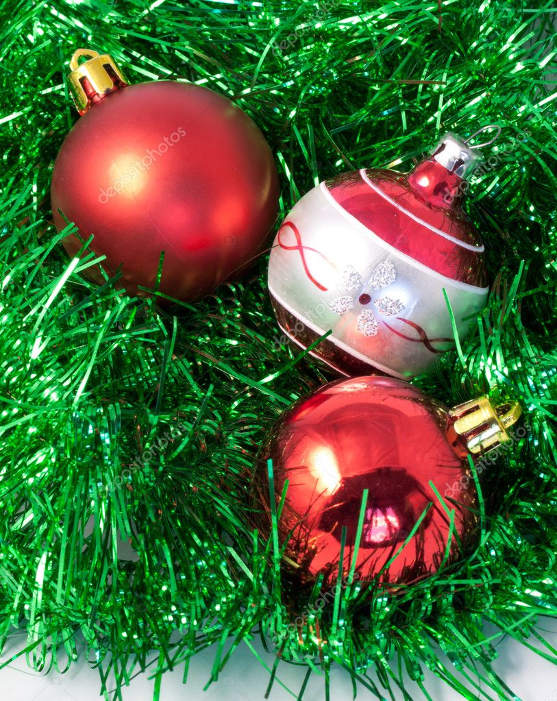 Christmas  balls   Stock Photo #7806334
