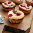 Cherry muffin — Stock Photo #7337961
