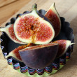 Fresh figs — Stock fotografie