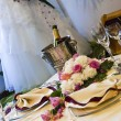 Beautiful wedding table — Stock Photo #7367431