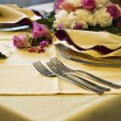 Beautiful wedding table — Stock Photo #7367433