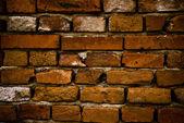 Wall from bricks — Stock Photo