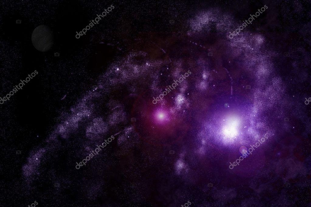 抽象宇宙-太空星云