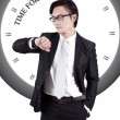 Motivational Image: Time for Success — Stock Photo