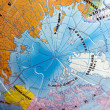 Stock Photo: World 3D Puzzle: North Pole