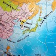 World 3D Puzzle: Japan and Korea — Stockfoto