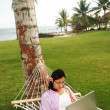 Work Anywhere — 图库照片