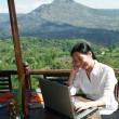 trabajar en cualquier lugar — Foto de Stock
