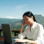 Work Anywhere — Stock Photo