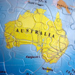 World 3D Puzzle: Australia — Stock Photo