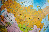 World 3D Puzzle: Russia — Stock Photo