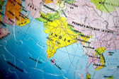 World 3D Puzzle: India — Stock Photo