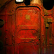 Rusted Steel Door - Lizenzfreies Foto