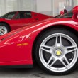 Red Ferrari — Stockfoto #7599783