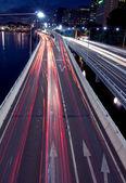 Staden vägen — Stockfoto