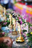 Little Buddha Bath — Stock Photo