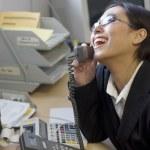 Happy Businesswoman — Stock Photo #7659971