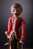 Indonesian Traditional Puppet — Stock Photo
