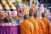 Holy Monks — Stock Photo
