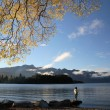 Lake Queenstown — Stock Photo #7660385