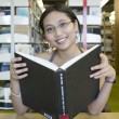 Studying in the Library — Stock Photo #7660639
