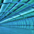 Stock Photo: Futuristic tunnel