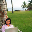 Freedom of Working Anywhere — Stock Photo #7661727