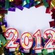 2012 background with copyspace — Stock Photo
