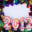 2012 background with copyspace — Foto de Stock