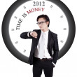 Motivational Photo: Time is Money — Stock Photo