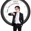 Motivational Photo: Time for Leadership — Stock Photo