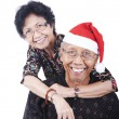 Happy Asian Senior Couple — Stock Photo #7915258
