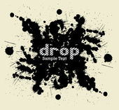 Drop. Vector illustration — Stock Vector