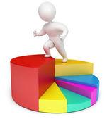 Chart arrow — Stock Photo