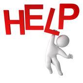 Ajuda de pessoa — Foto Stock