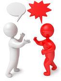 Dialog debate — Stock Photo