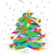 Christmas Tree — Stock Vector #7369063