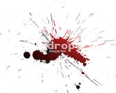 Blot. Vector illustration — Stock Vector