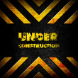 Stock Photo: Under construction background